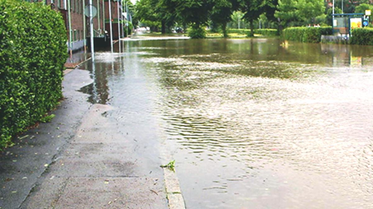 Åtgärder för att minska översvämningsrisk