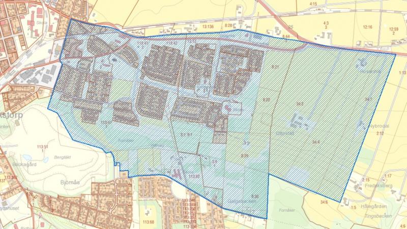 Vattenskydsområden i nordvästra Skåne
