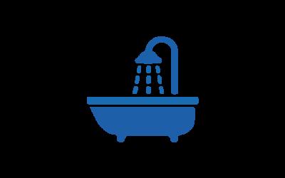 Undvik att bada badkar
