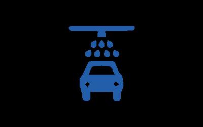 Tvätta bilen i en modern biltvätt