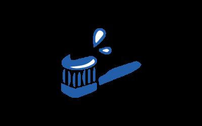 Goda tandborstnings- och rakningsvanor