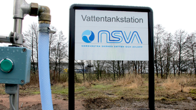 Vattentankstationer
